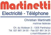 Martinetti ELECTRICITE